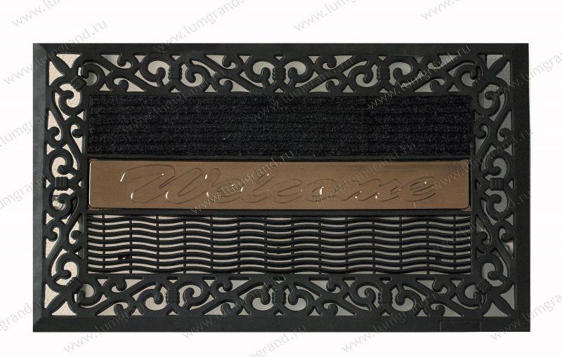 Коврик 76x45x3 см. Резина + вставки ворсовые. зарегистрироваться.